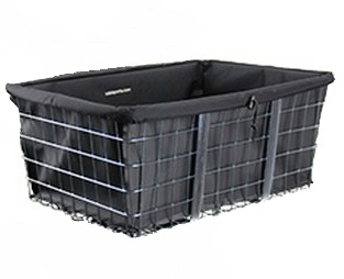 "Liner fits Basket Front Mount Large (18-150 & 18-155) 21"" X 15"" X 9"" Color Black"