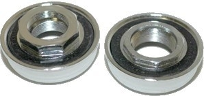 Bottom Bracket Set 24TPI (Sealed Bearings) for 1 pc Crank