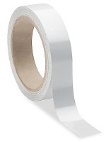 "Reflective Tape Roll 1""x 10 Yds (White)"
