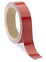 "Reflective Tape Roll 1"" X 10 Yds (Red)"