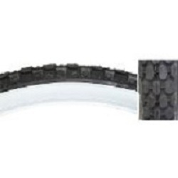 Tire 26 X 2.125 White wall Heavy Duty (Knobby)