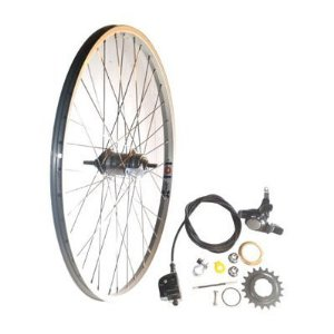 Wheel Rear 26 X 1.75, 3 Speed Shimano
